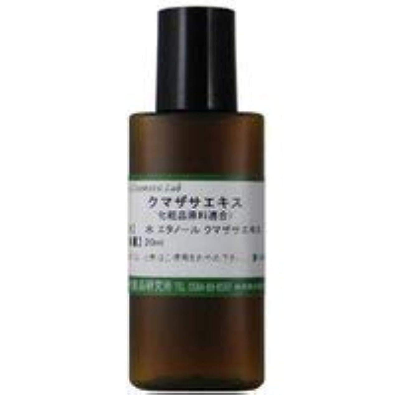 エールバンガロー考案するクマザサエキス 化粧品原料 20ml