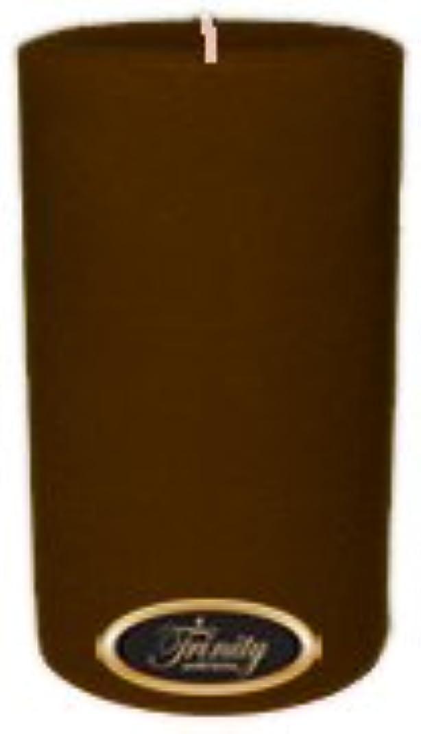 枠白鳥可能性Trinity Candle工場 – カプチーノ – Pillar Candle – 4 x 6