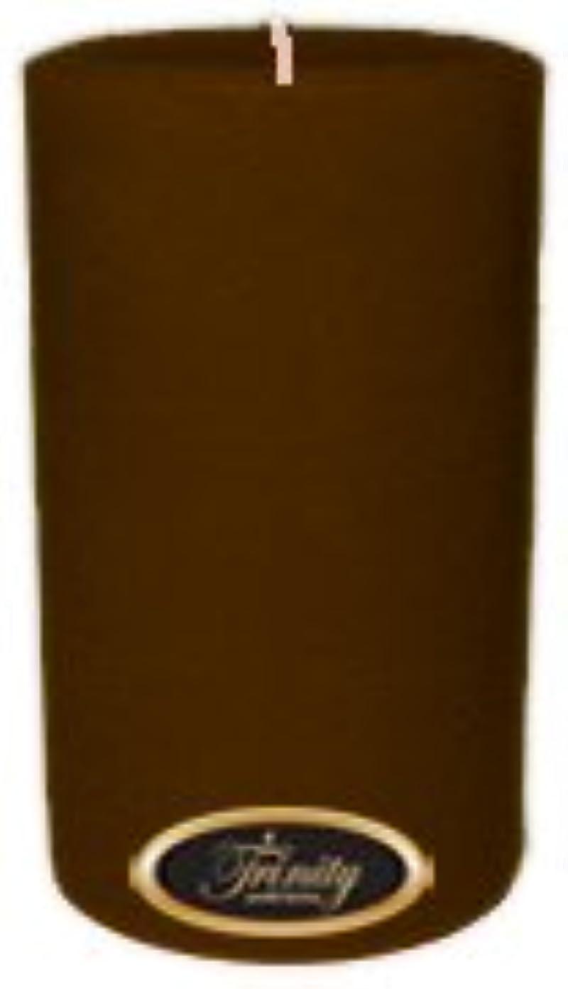 覆すマーチャンダイザー実用的Trinity Candle工場 – カプチーノ – Pillar Candle – 4 x 6