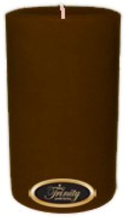 ピラミッド悪行脆いTrinity Candle工場 – カプチーノ – Pillar Candle – 4 x 6