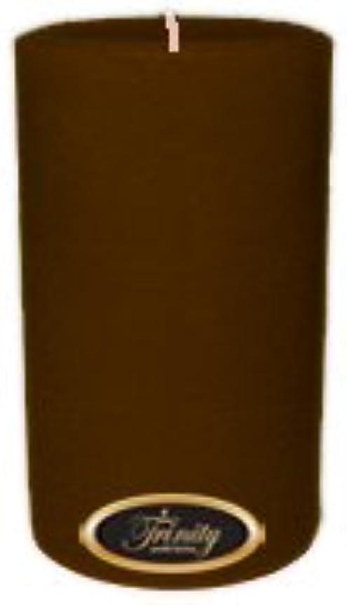 ドラマ消毒剤権限を与えるTrinity Candle工場 – カプチーノ – Pillar Candle – 4 x 6