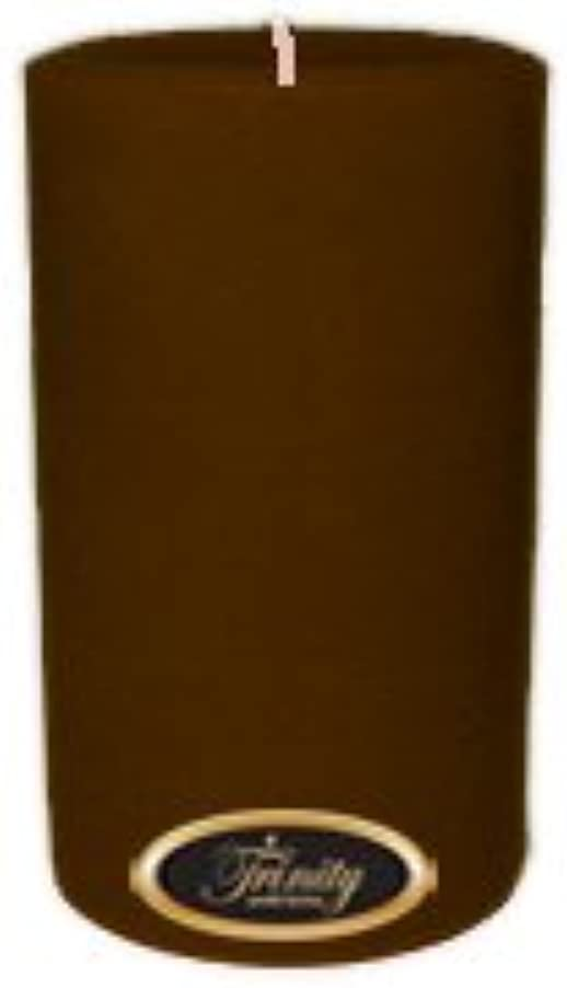 山修復寄稿者Trinity Candle工場 – カプチーノ – Pillar Candle – 4 x 6