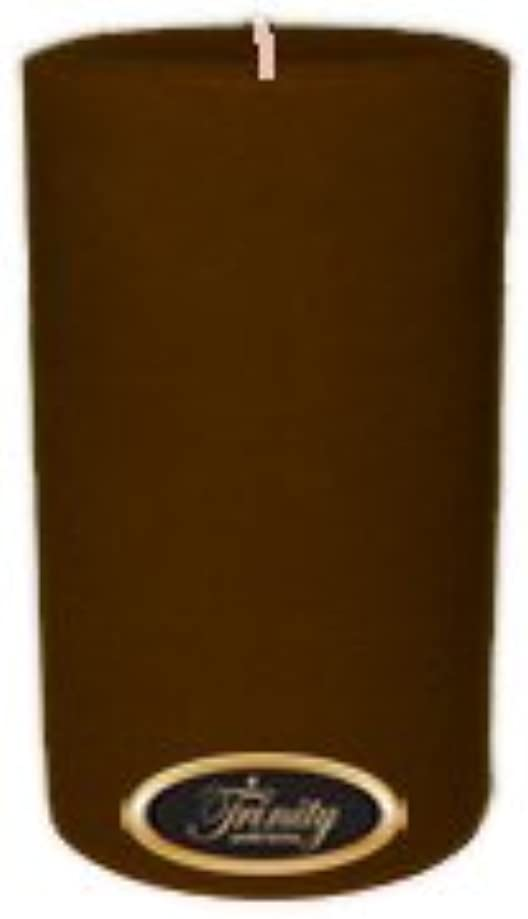 酔っ払い会話穴Trinity Candle工場 – カプチーノ – Pillar Candle – 4 x 6