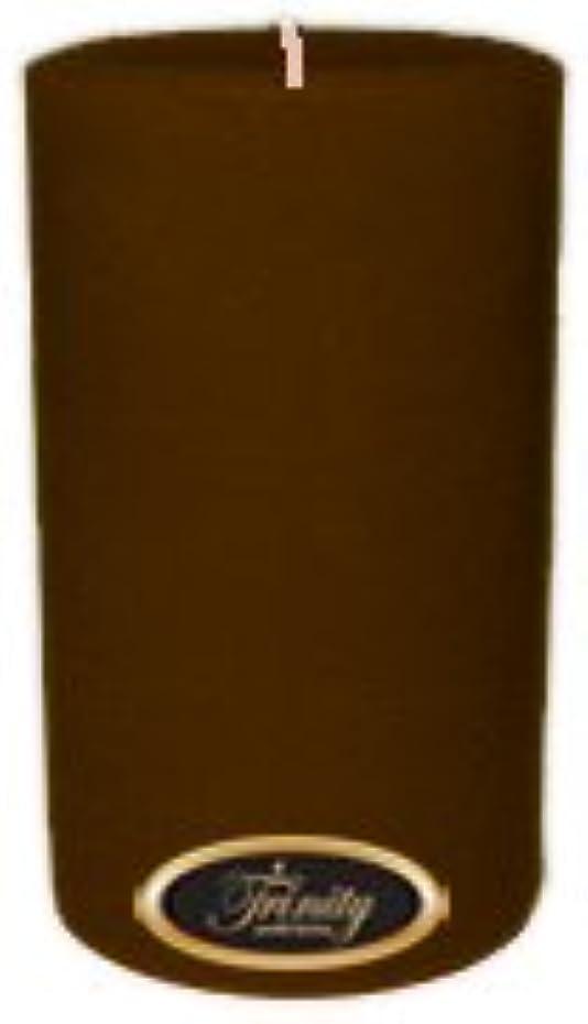 感謝祭ランドリー硬いTrinity Candle工場 – カプチーノ – Pillar Candle – 4 x 6