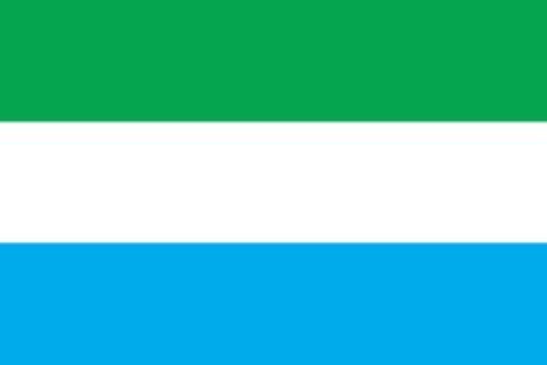 世界の国旗 シエラレオネ 国旗 [120×180cm 高級テトロン製]
