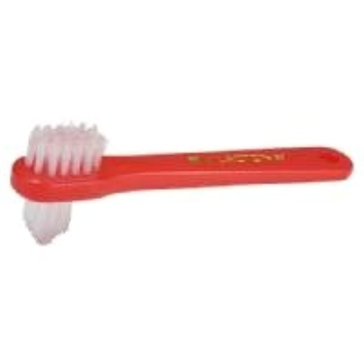 いっぱい縞模様のリー【ラクトナ】【歯科用】ラクトナ歯ブラシ #500 M 1本【義歯用ブラシ】
