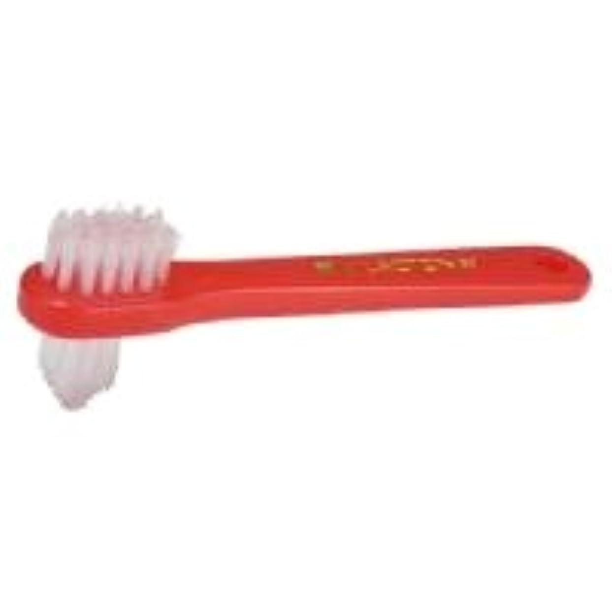 ラベル縮約後方【ラクトナ】【歯科用】ラクトナ歯ブラシ #500 M 1本【義歯用ブラシ】