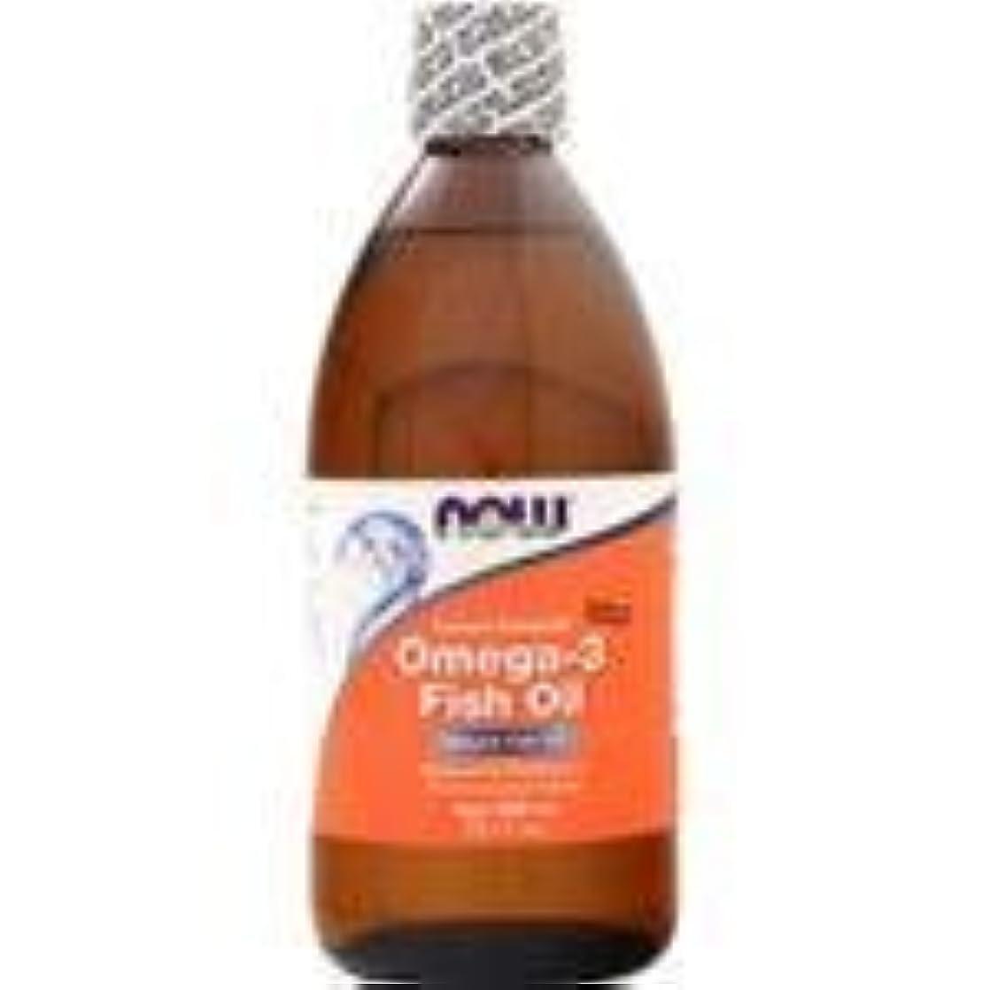 サービス手伝うシルエットオメガ3 魚油 レモン風味 16.9 fl.oz 4個パック