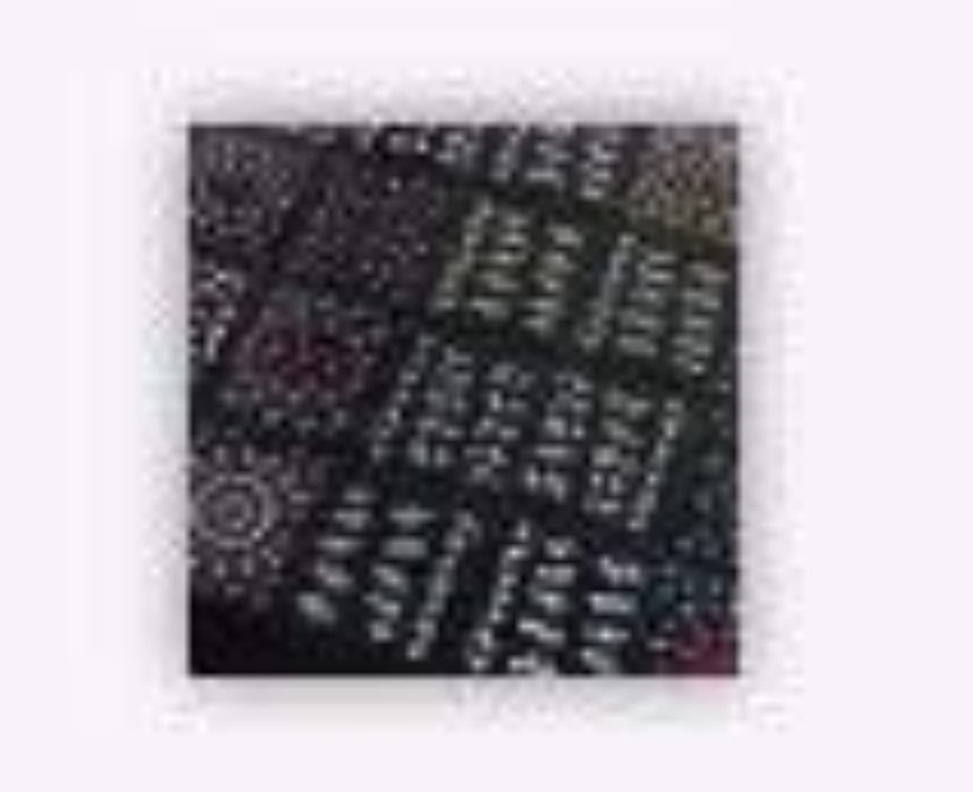 ラケットテーマ蓄積する50シート3Dミックスカラーフローラルデザインネイルアートステッカーデカールマニキュア美しいファッションアクセサリーの装飾
