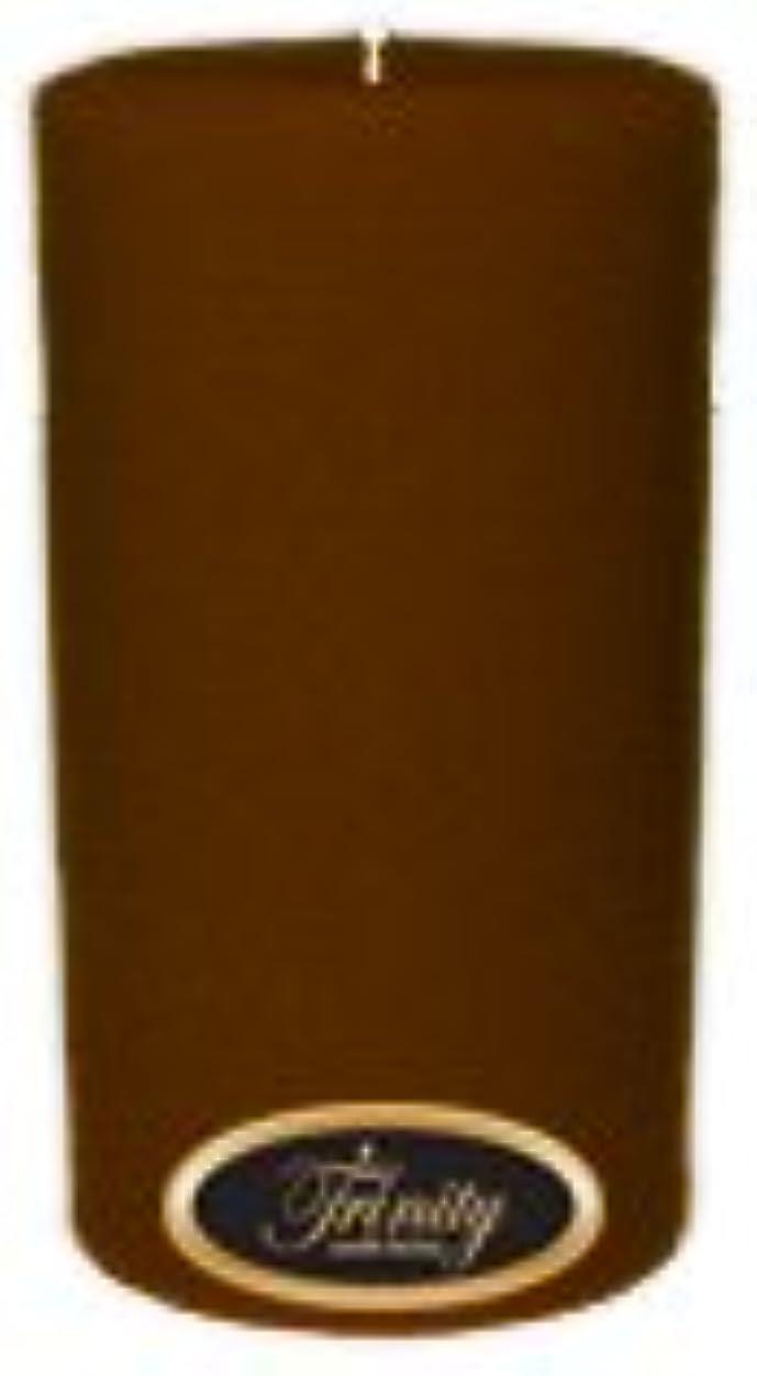 黒くする雪の修正するTrinity Candle工場 – Caramel Toffee – Pillar Candle – 3 x 6