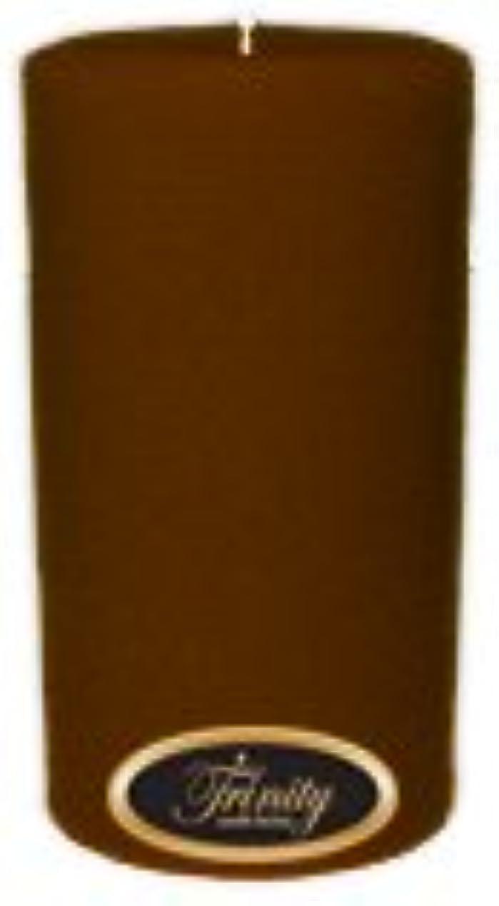薄い熱心な乗ってTrinity Candle工場 – Caramel Toffee – Pillar Candle – 3 x 6