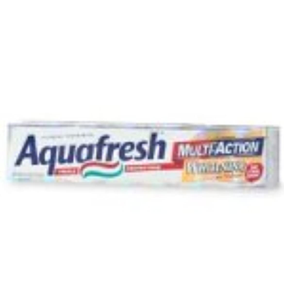 うがい検証ピーブ海外直送品Aquafresh Aquafresh Ultimate White With Enhanced Whitening Action Toothpaste, 6 oz