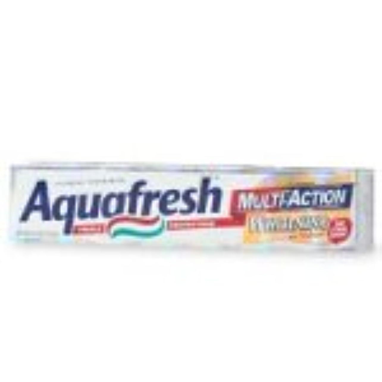 夜間灰一節海外直送品Aquafresh Aquafresh Ultimate White With Enhanced Whitening Action Toothpaste, 6 oz