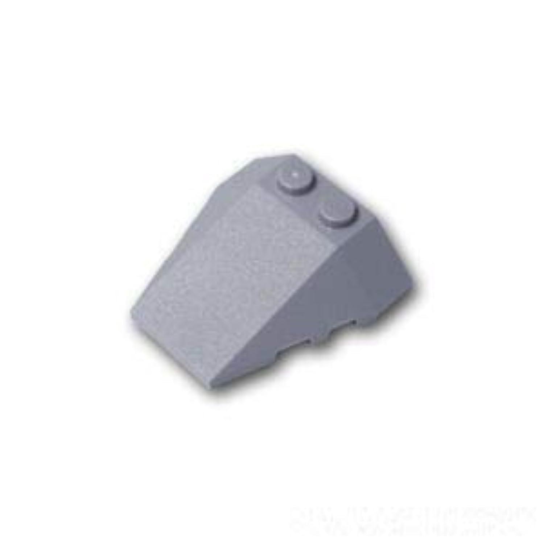 レゴブロック ばら売りパーツ ウェッジ 4 x 4 - 3面カーブ:[Light Bluish Gray / グレー] [並行輸入品]