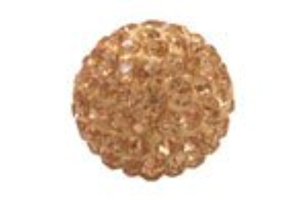 パイ温度計に勝るキラキラクリスタルボール シャンパン6mm (片穴)