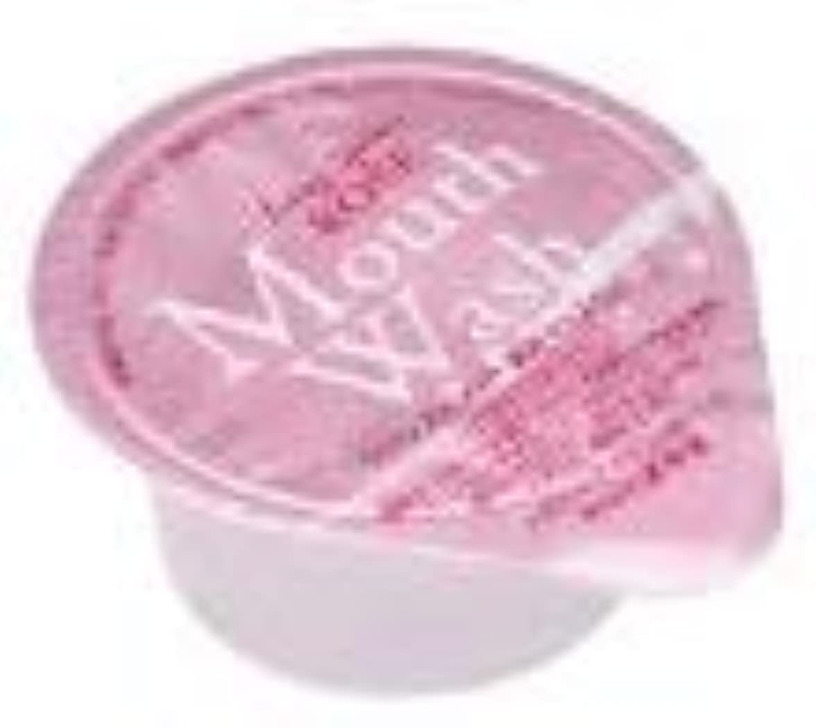 征服者歪める寝室を掃除するオキナ 薬用マウスウオッシュ ロングスピン ピンク ローズ 1000個セット