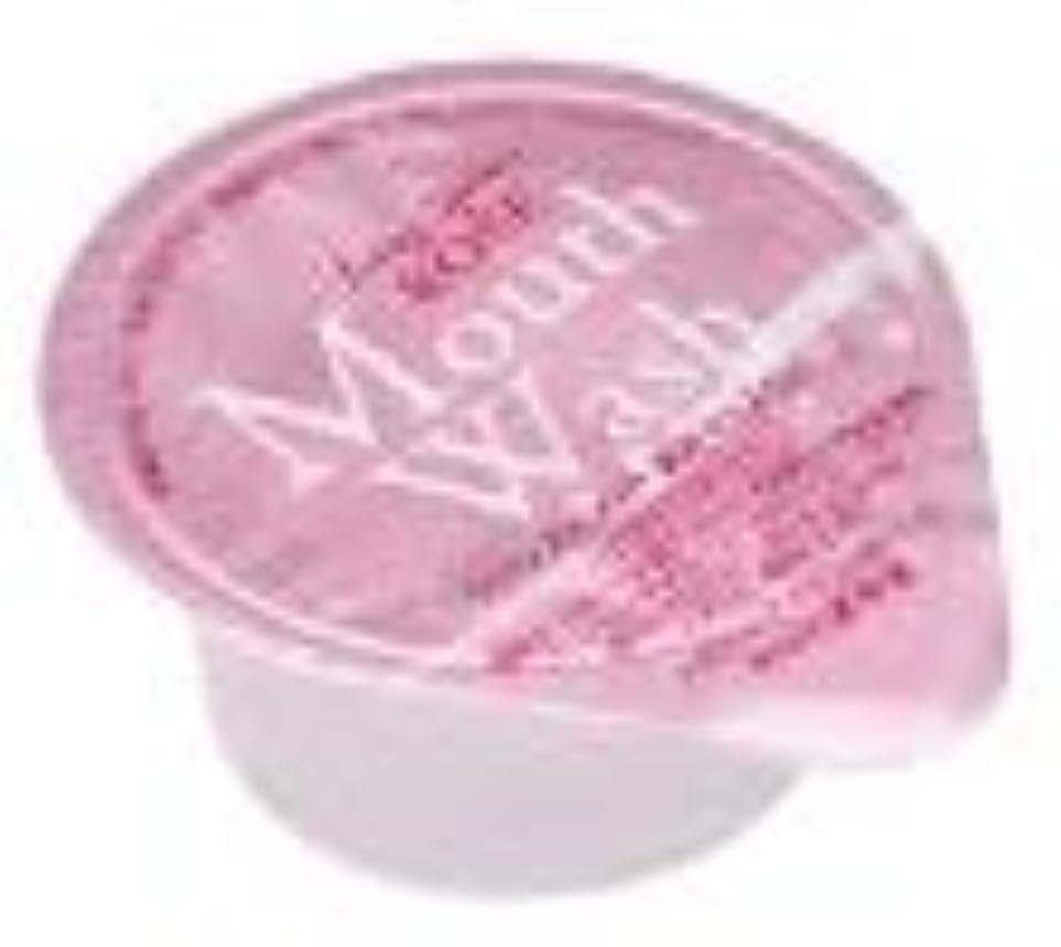 圧倒する取り出す人柄オキナ 薬用マウスウオッシュ ロングスピン ピンク ローズ 1000個セット