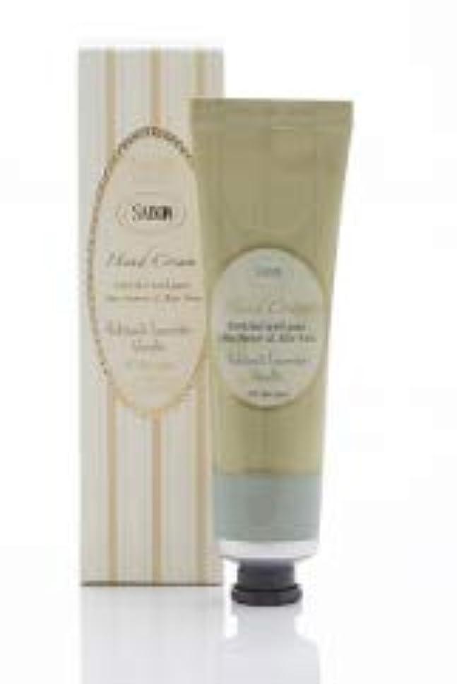 ベリ予言する有毒なSABON(サボン)ハンドクリーム Hand Cream (50ml) (パチュリー?ラベンダー?バニラ)