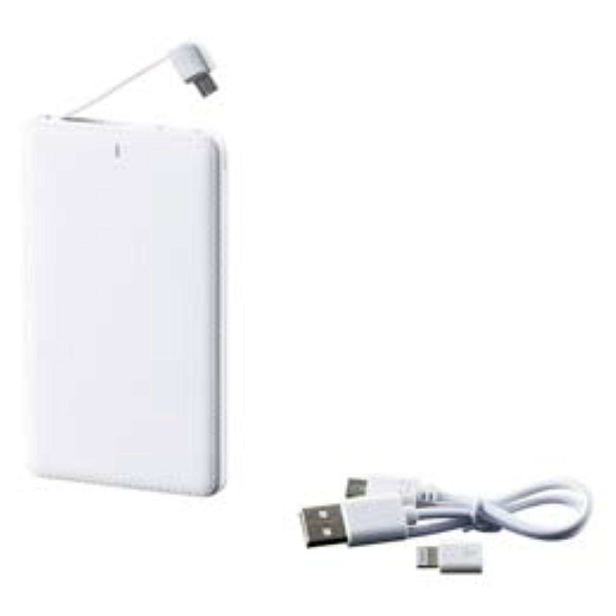 フレット晩餐不適当【まとめ 4セット】 モバイルバッテリー(5000mAh) M80212824