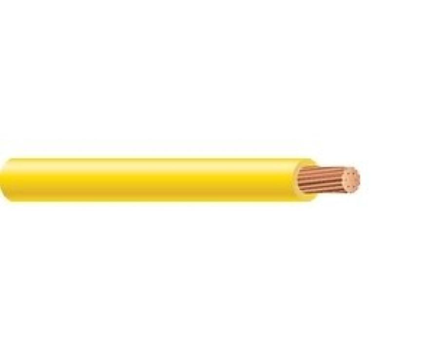 中古これらハンマー1800 ' 6 g-1601 – 05-rohs 16 AWG 1 Conductor 26 Strands BCイエローナイロンPVC断熱材非シールドTHHN / thwn-2ケーブル