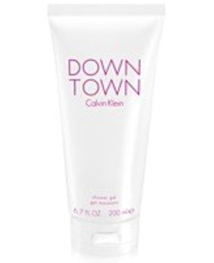 マッシュブレーク調停するDown Town (ダウンタウン) 6.7 oz (200ml) Body Wash by Calvin Klein for Women