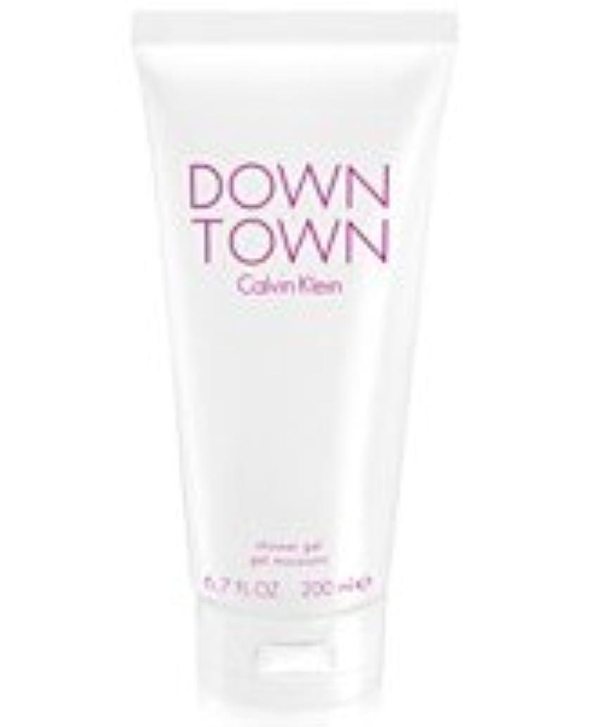 バレーボール自己尊重パワーDown Town (ダウンタウン) 6.7 oz (200ml) Body Wash by Calvin Klein for Women