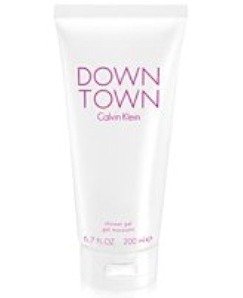 咳拘束するスワップDown Town (ダウンタウン) 6.7 oz (200ml) Body Wash by Calvin Klein for Women