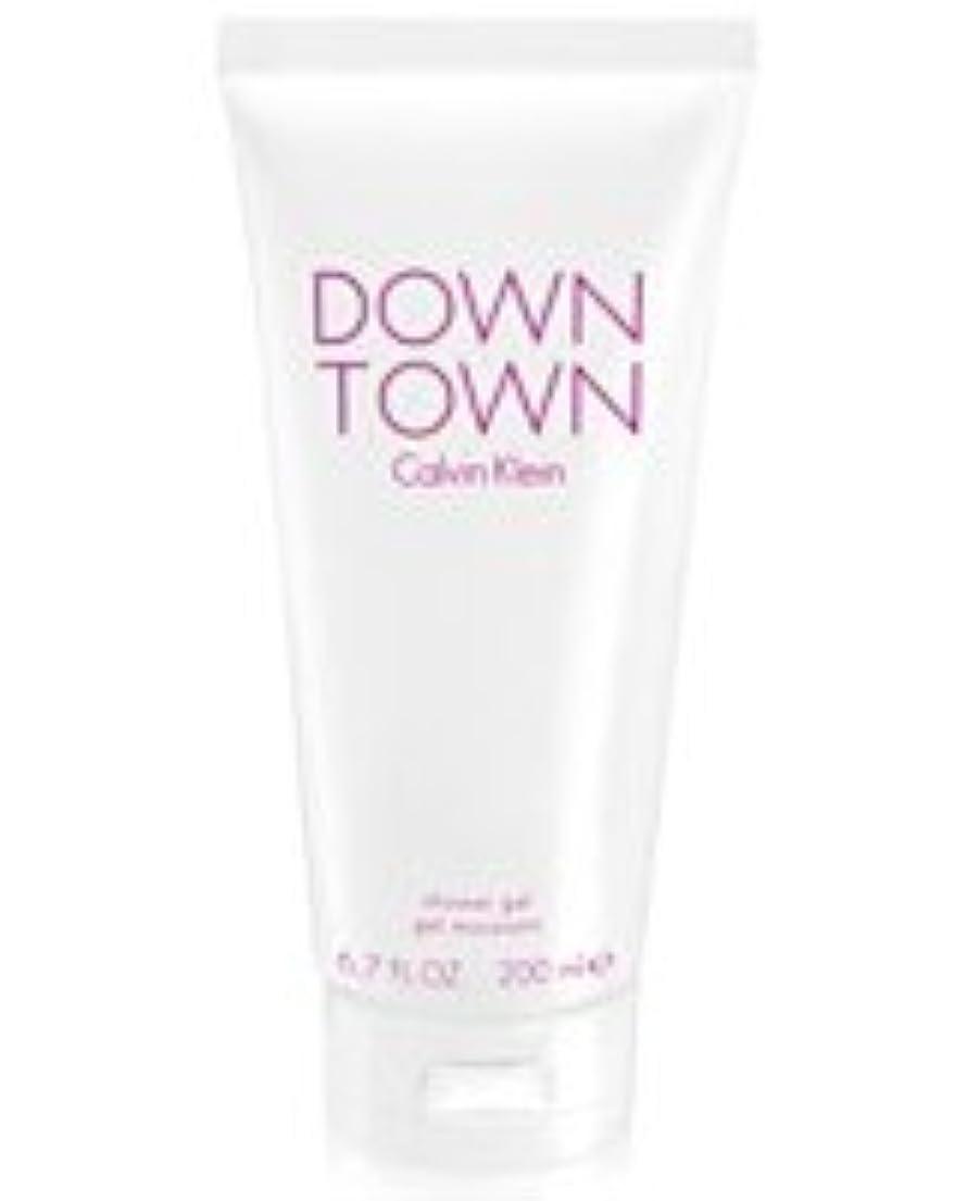 範囲レバー腰Down Town (ダウンタウン) 6.7 oz (200ml) Body Wash by Calvin Klein for Women