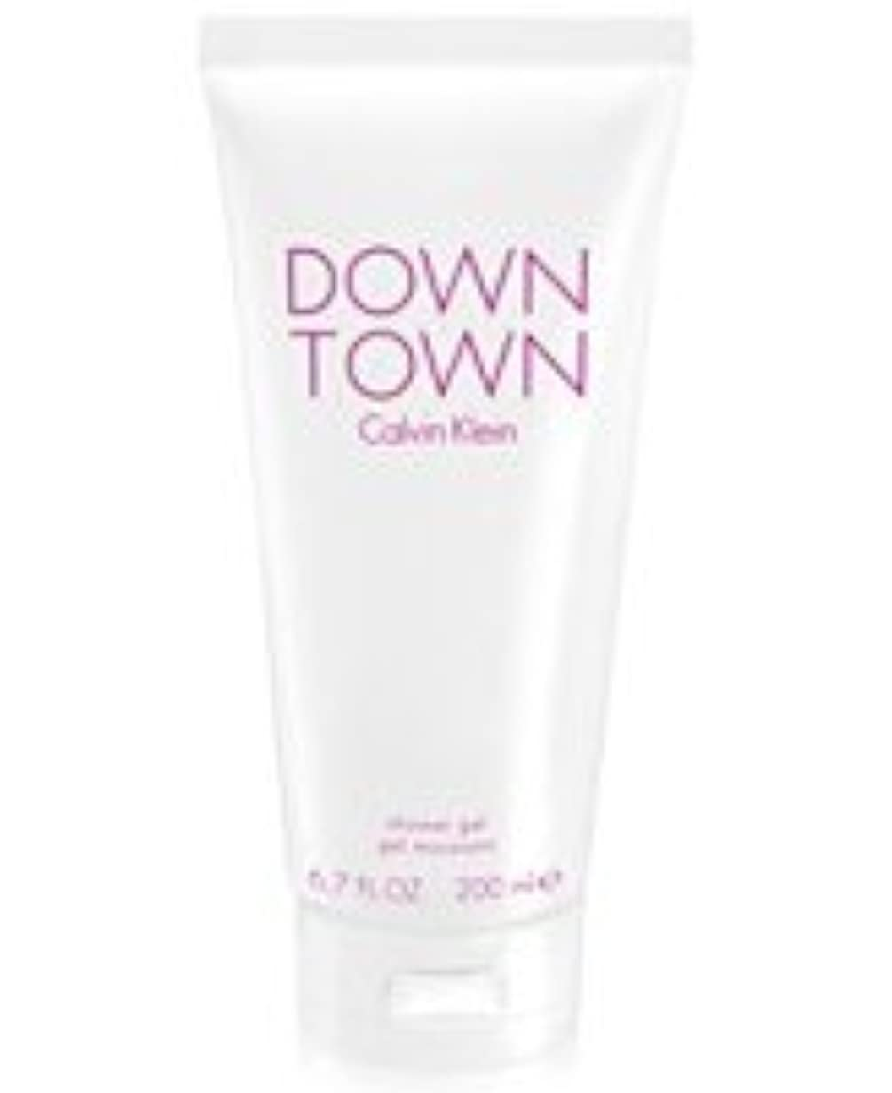 法律イサカモチーフDown Town (ダウンタウン) 6.7 oz (200ml) Body Wash by Calvin Klein for Women