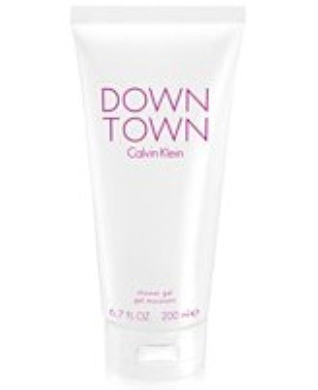 寄付するアカデミックスチールDown Town (ダウンタウン) 6.7 oz (200ml) Body Wash by Calvin Klein for Women
