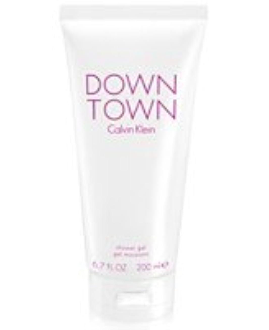 注釈を付ける銛更新Down Town (ダウンタウン) 6.7 oz (200ml) Body Wash by Calvin Klein for Women