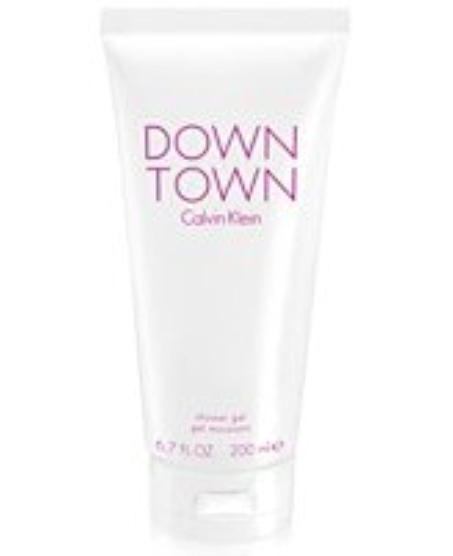 上級スキム風邪をひくDown Town (ダウンタウン) 6.7 oz (200ml) Body Wash by Calvin Klein for Women