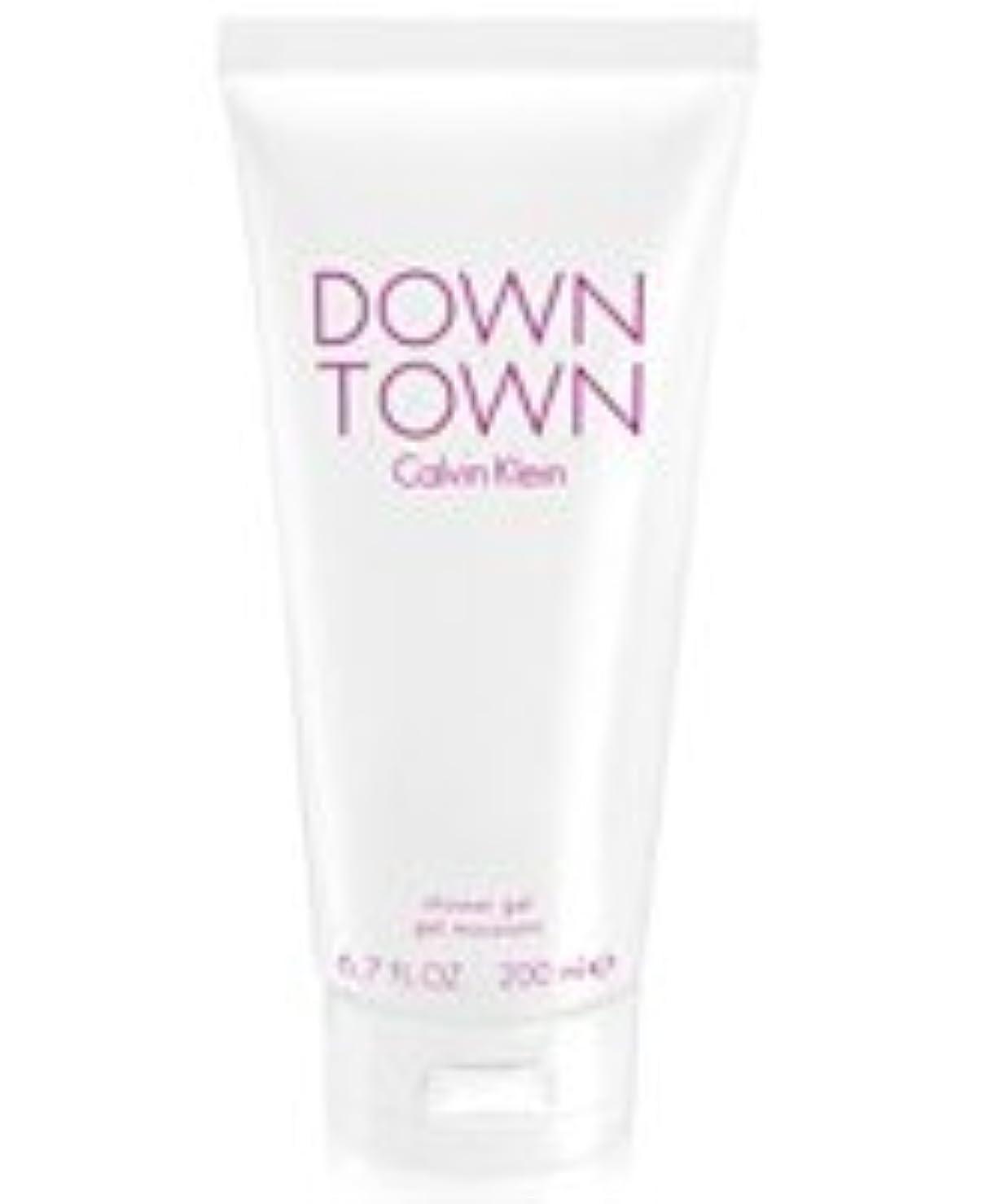 方法論ドアミラー幹Down Town (ダウンタウン) 6.7 oz (200ml) Body Wash by Calvin Klein for Women