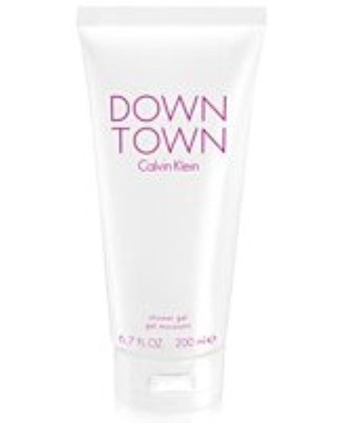 貫通学士ほとんどないDown Town (ダウンタウン) 6.7 oz (200ml) Body Wash by Calvin Klein for Women
