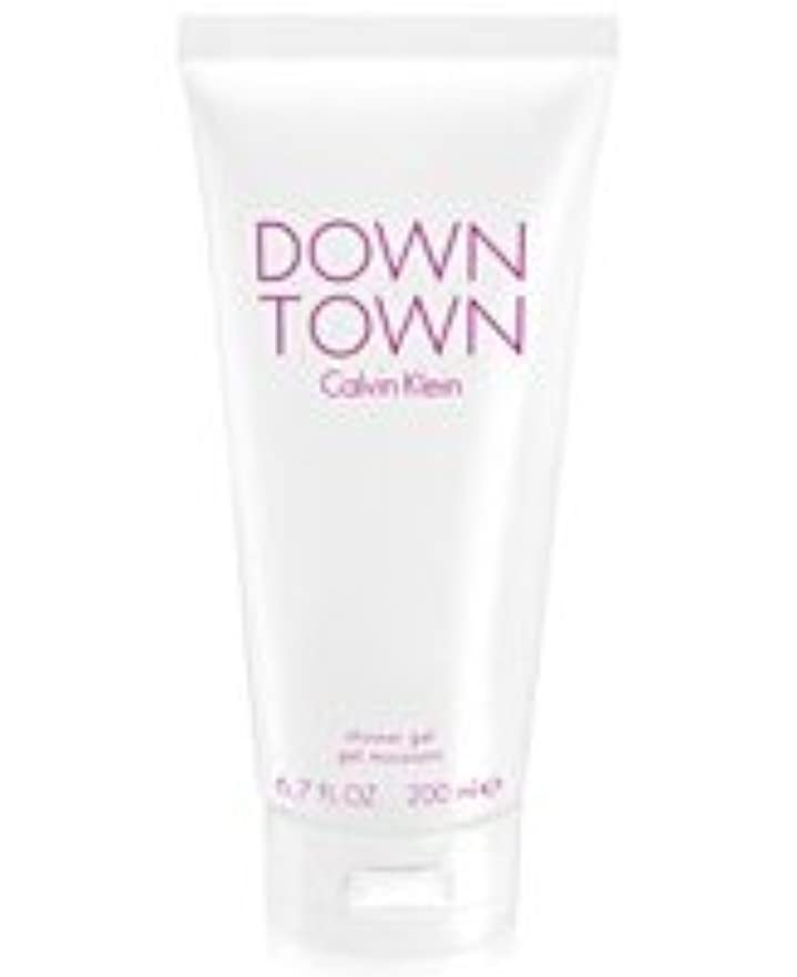 ずるい認証矛盾するDown Town (ダウンタウン) 6.7 oz (200ml) Body Wash by Calvin Klein for Women