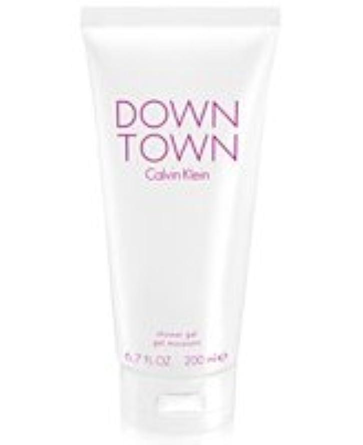にはまって賠償パンフレットDown Town (ダウンタウン) 6.7 oz (200ml) Body Wash by Calvin Klein for Women