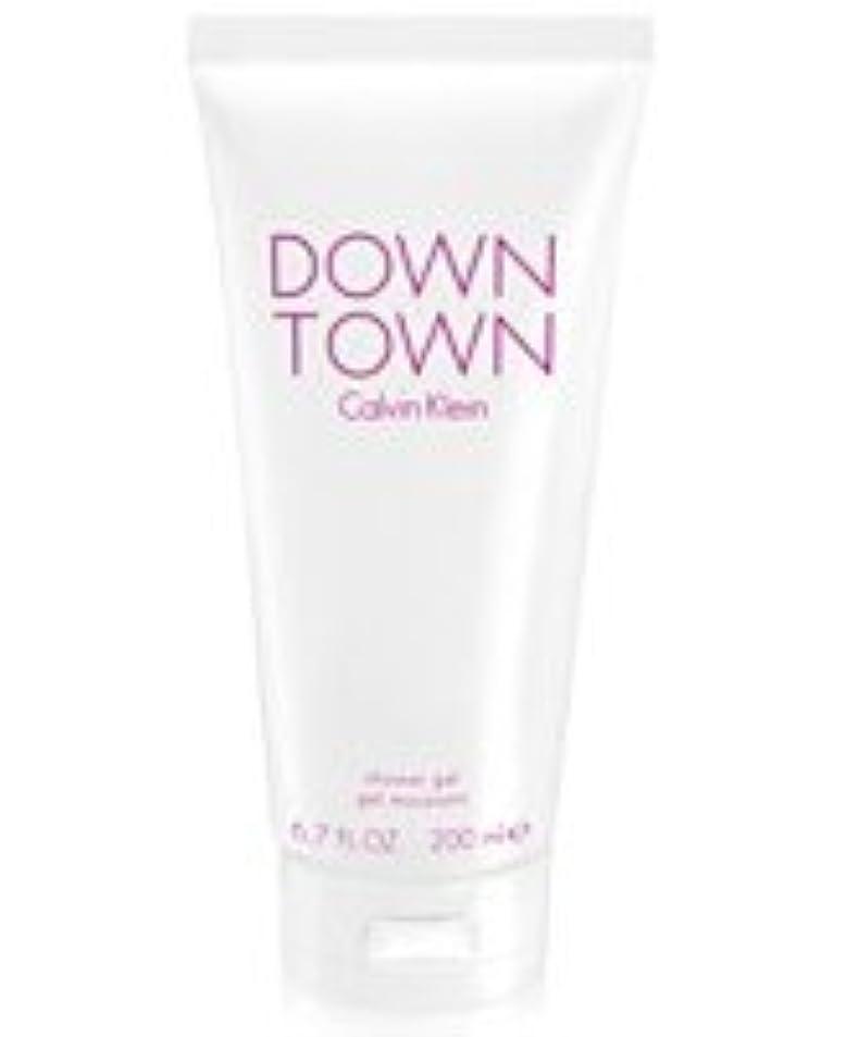 不安サイズクランプDown Town (ダウンタウン) 6.7 oz (200ml) Body Wash by Calvin Klein for Women