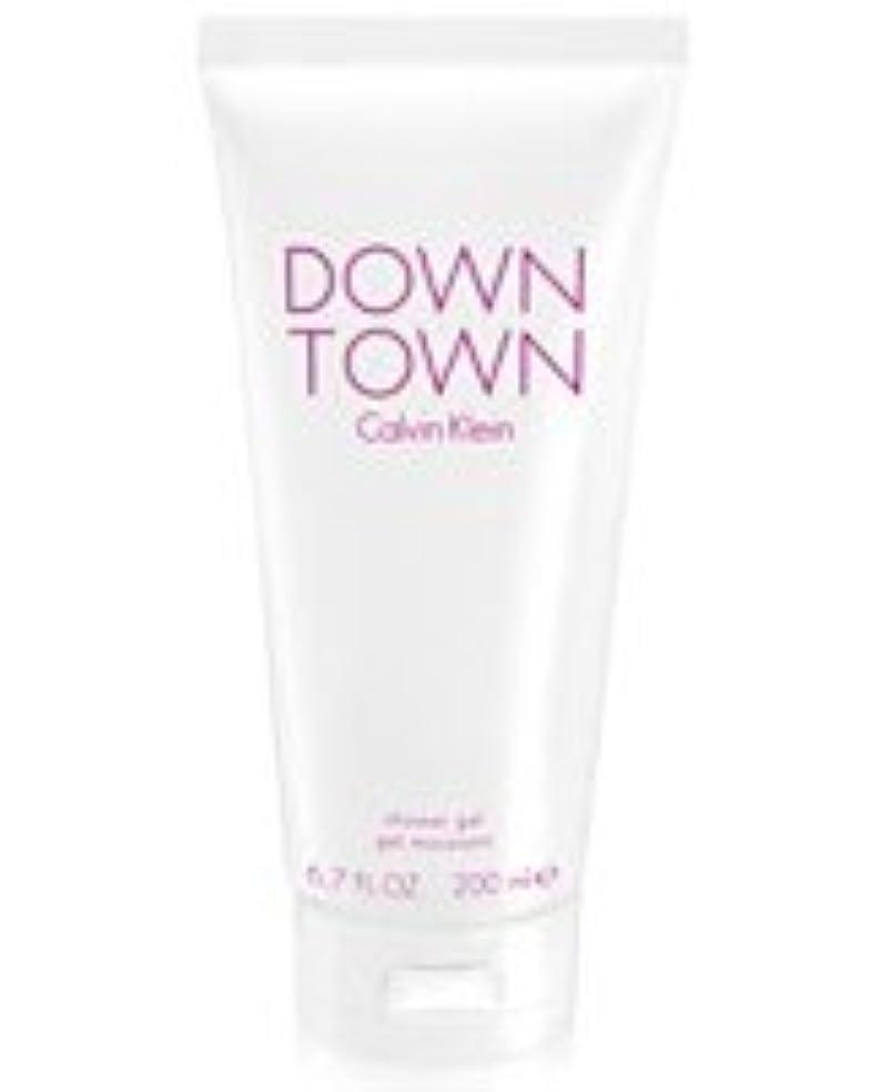 ビヨン示す温室Down Town (ダウンタウン) 6.7 oz (200ml) Body Wash by Calvin Klein for Women