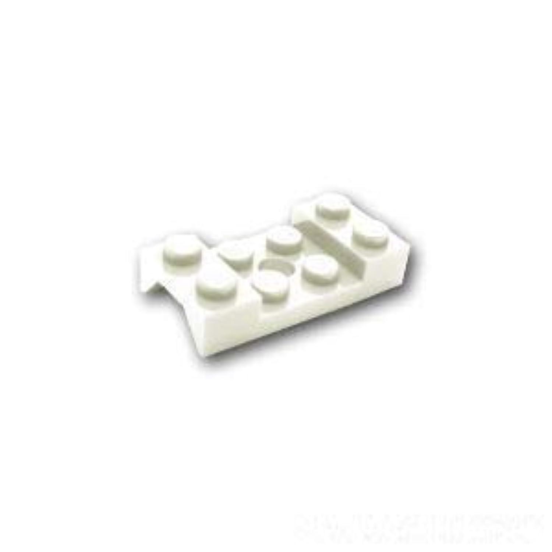 レゴブロック ばら売りパーツ カー マッドガード 2 x 4 - 穴有り:[White / ホワイト] [並行輸入品]