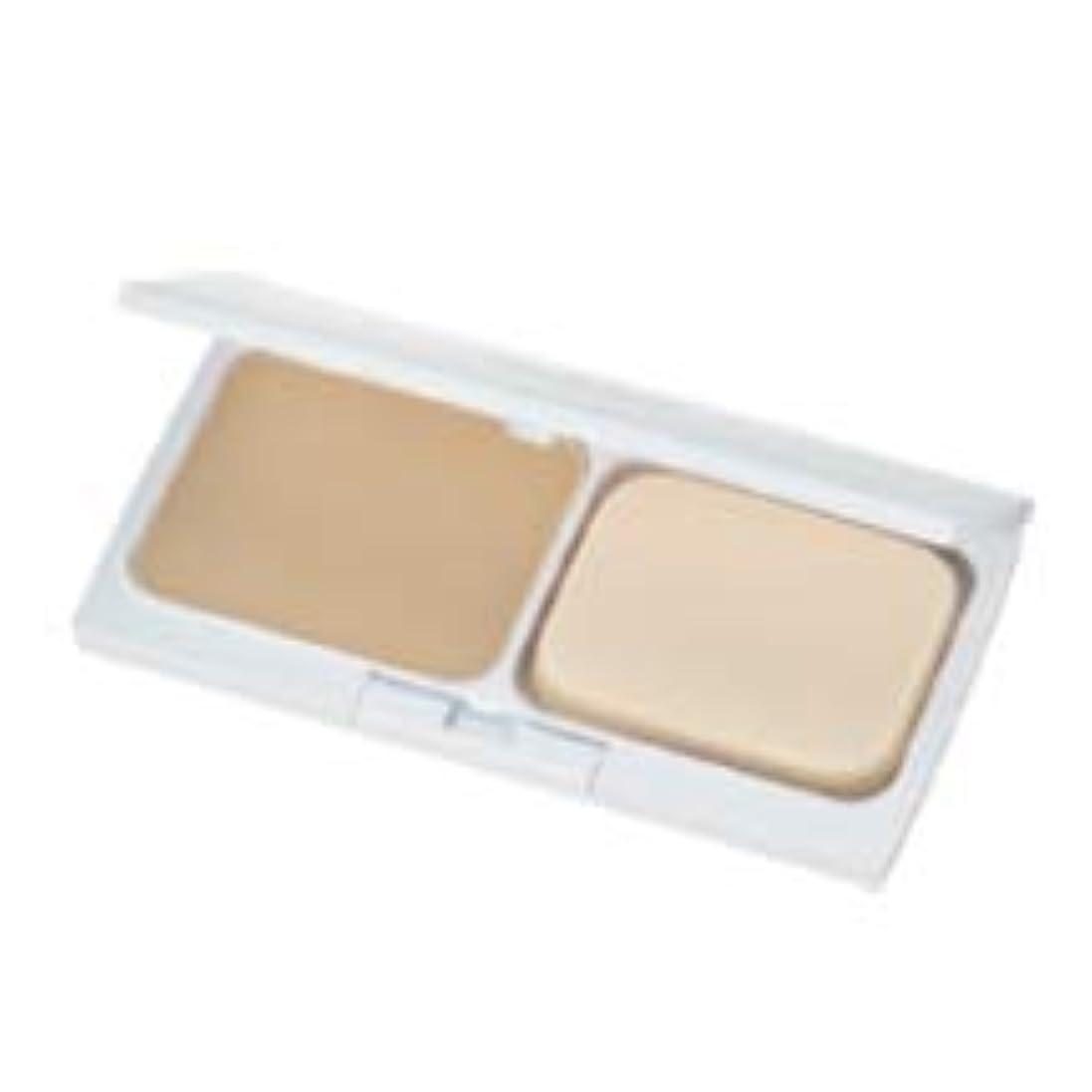 フェリー漂流乳白色エムディ化粧品 レセプトII ナチュラルヴェールパウダーファンデーショ(レフィル) オークル