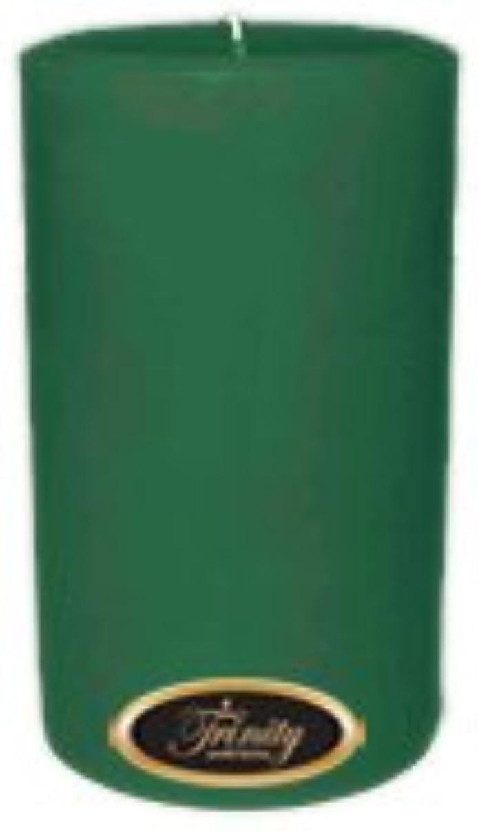 矢じり船員高揚したTrinity Candle工場 – ユーカリ – Pillar Candle – 4 x 6