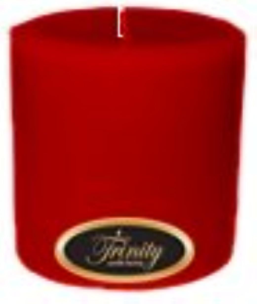 砂にやにや楽観的Trinity Candle工場 – ザクロ – Pillar Candle – 4 x 4