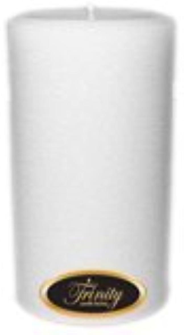 四面体スイングミンチTrinity Candle工場 – Fresh Linen – Pillar Candle – 3 x 6