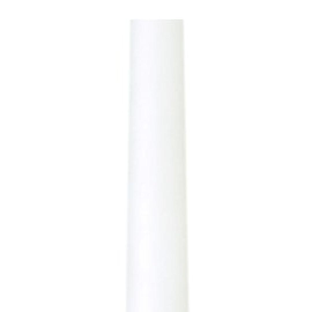 施し失われた気になるテーパーキャンドル クラッシー ホワイト 蝋燭