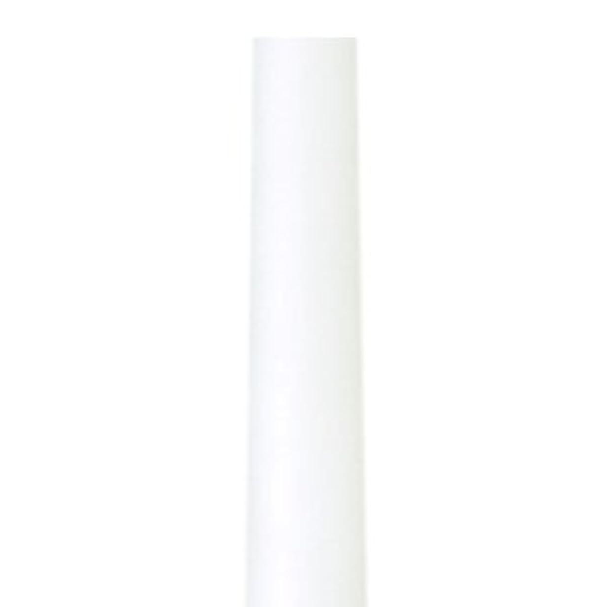 百万三十流産テーパーキャンドル クラッシー ホワイト 蝋燭