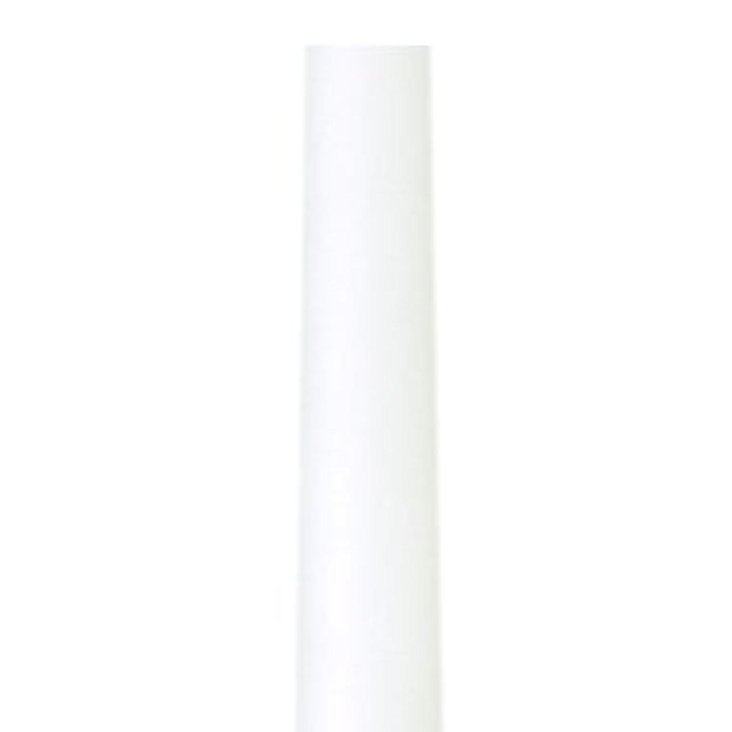 文字通り扇動暴露テーパーキャンドル クラッシー ホワイト 蝋燭