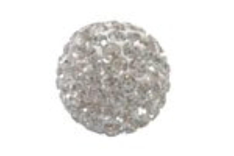 摂氏エアコン絶望的なキラキラクリスタルボール クリスタル6mm (2穴)