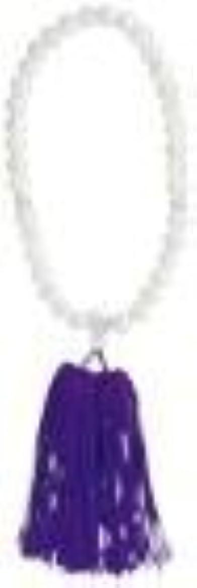 裏切りミニチュアスキップ念珠婦人用 蝶貝