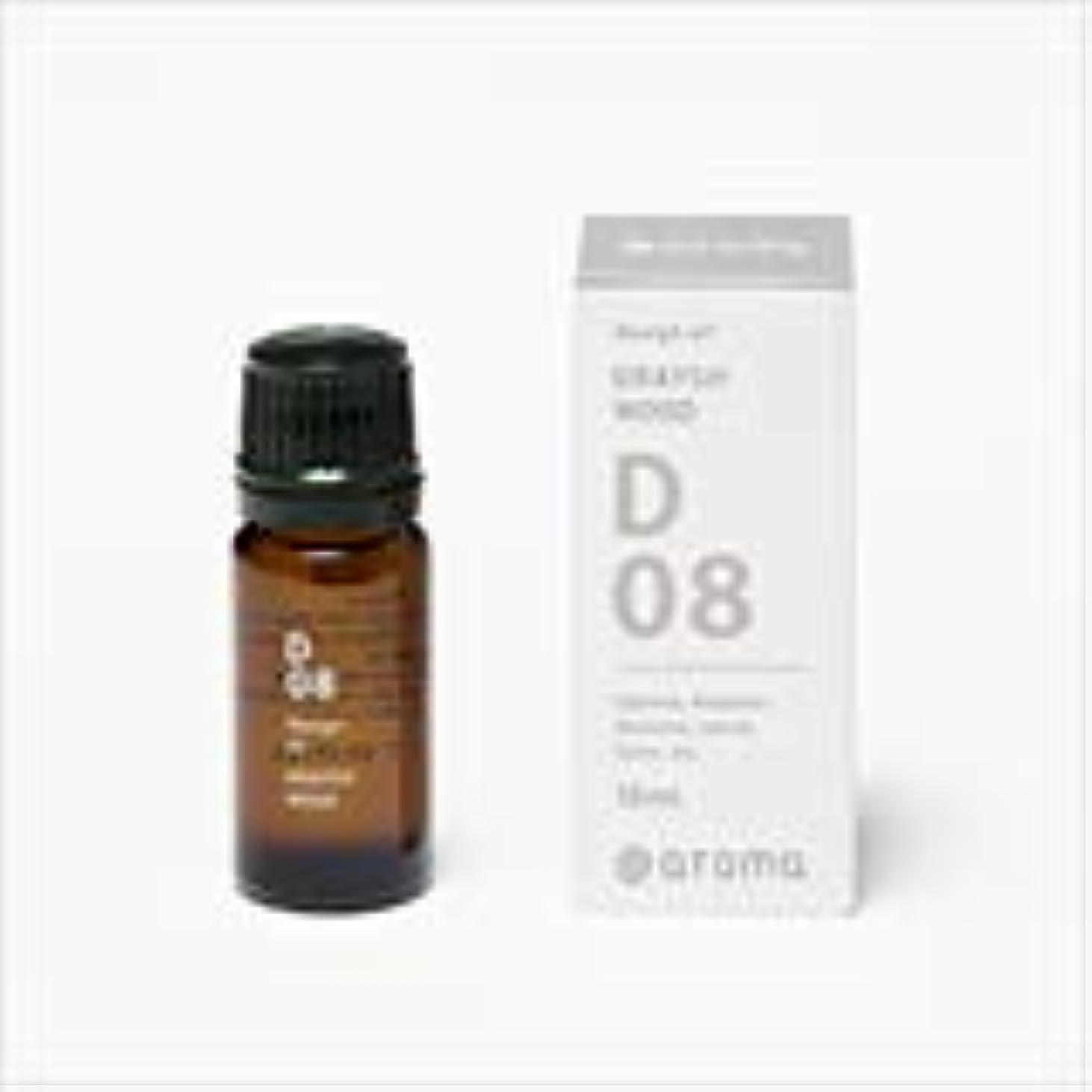 に負けるフェンス敵アットアロマ 100%pure essential oil <Design air グレイッシュウッド>