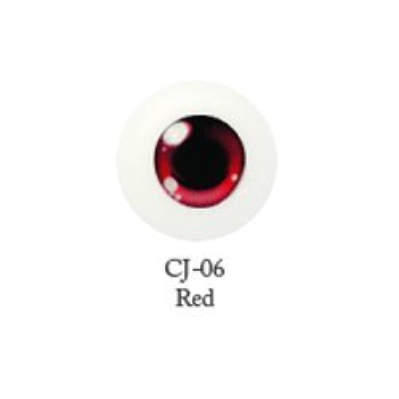 ドール用アクリルアイ キャラアイ 16mm 【CJ-06レッド】(並行輸入品)
